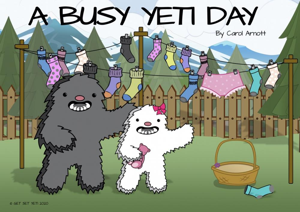 A busy yeti day