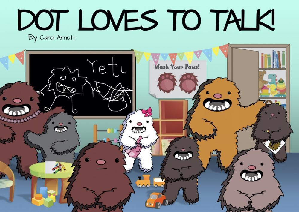 Dot loves to talk